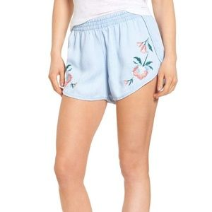 Rails Liam embroidered shorts